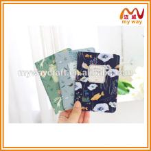 Hot New China papelaria do caderno escolar para meninas, bloco de notas de tamanho pequeno