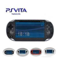 Vinyl Protector Skin Carbon Fiber Sticker para Sony PS Vita PSvita PSV 1000 PSV1000