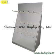 Коробки pdq бумаги Крючки Дисплей, стойка дисплея Крюков картона, Дисплей Крюков (B и C-D035)
