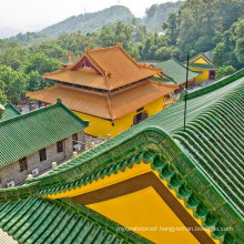 Mca Superior Clay Chinese Pagoda Ceramic Shingle Roof Tile