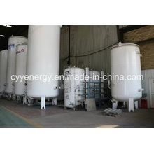 Welded Steel Liquid Oxygen Nitrogen Argon Carbon Dioxide Tank