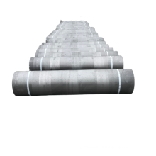 UHP graphite electrode with nipples used in arc furnace steelmaking