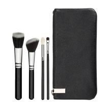 Selección de viaje de 4 cepillo de maquillaje profesional Set (ST0401)