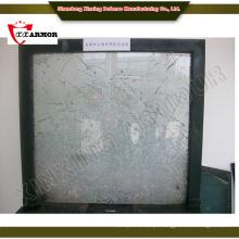 Vidro flutuante vidro à prova de balas para edifícios