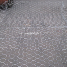 Keranjang Gabion Galvanized Mex Hot Dipped Galvanized