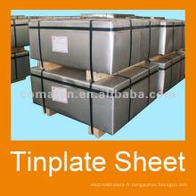 fer-blanc avec Monsieur 2.8/5.6 étamage T3BA pour le métal peut production