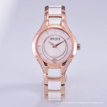 Горячие продажи нержавеющей стали Изысканные женские автоматические часы