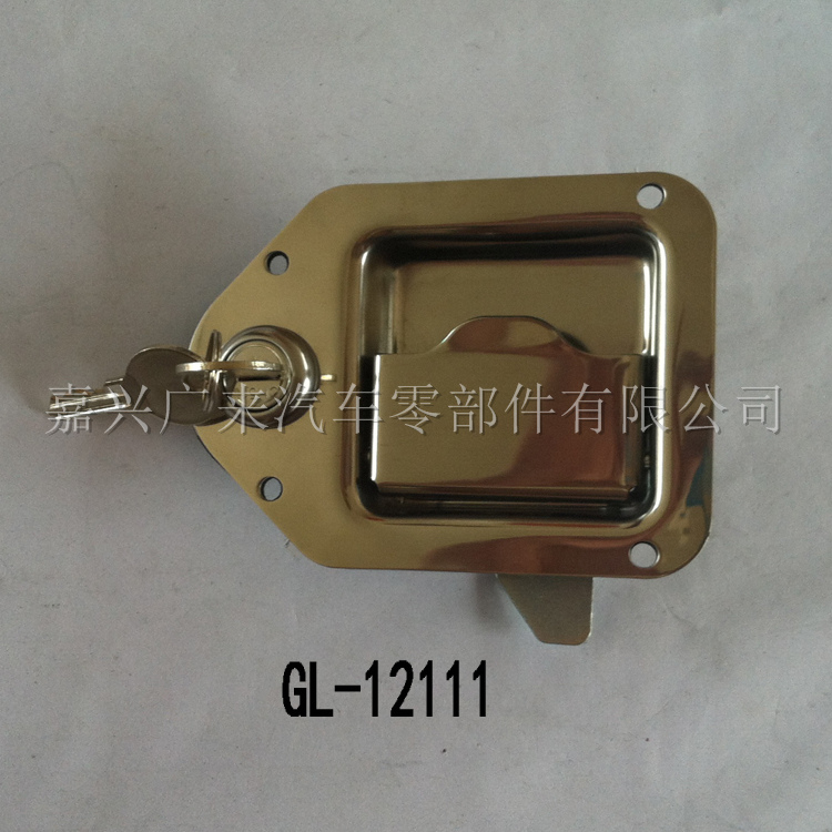 304 Stainless Steel Recessed Lock GL-12111T1