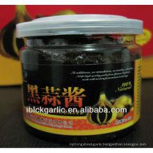 Green and Organic Food--Black Garlic Puree