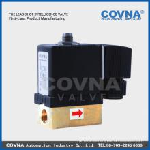 "Mini válvula solenoide para agua / agua, aire, gas, aceite / 1/4 ""/ válvula neumática solenoide"
