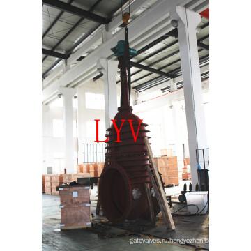 Нержавеющая сталь служила фланцем запорная заслонка с гибким клином