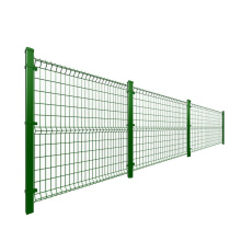 Fence Panel Popular Powder Coated Kinds of Pole With 3D Welded Fence Panel