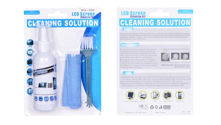 Plastic Bottle spray cleaner