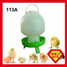 Bebedor De Bebê De Bola De Plástico Com 3 Pés Bebedor De Aves