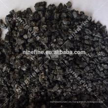 venta caliente 1-5 mm de grafito de carbono de raiser en fábrica de carbono de China