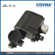 Válvula de actuador de 3 vías posicionador neumático posicionador electro neumático