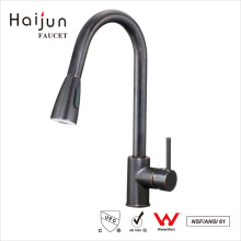 Haijun Wenzhou contemporánea sola manija tirón de la cocina de agua grifo grifos de agua