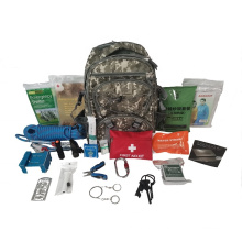 Factory wholesale 5 day outdoor emergency bag backpack military, first aid survival backpack kit
