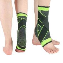 Adjustable Breathable Compression Ankle Support Brace for Running Walking