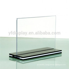 Clear Acrylic Table Top Sign Holder Picture Frame Displays