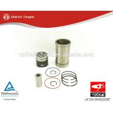 Motor YuChai YC6J Pistão, anel de pistão, pino do pistão, camisa do cilindro J4100-9000200B *