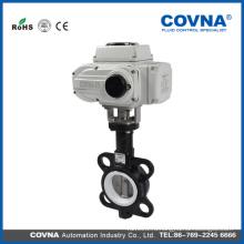 4-дюймовый вафельный тип моторизованный клапан-бабочка Клапан контроля потока воды