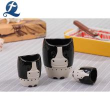 Custom 3d Cartoon Animal Design Ceramic Custom Printing Mugs Cups