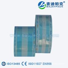 Autoklave medizinische sterile Papierplastikverpackungsrolle