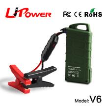 En la promoción 14000mAh 12v batería del arrancador del coche del litio cargador de batería auto / epower cargador / arrancador del salto con el cargador del coche