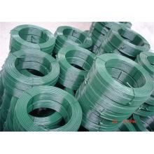 Alambre galvanizado revestido del PVC / alambre del lazo / alambre obligatorio