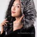 Winter overalls Mink Fur Overcoat For Women
