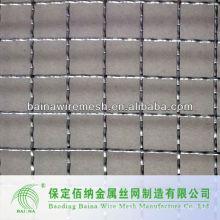 Malla de alambre prensada galvanizada de alta calidad