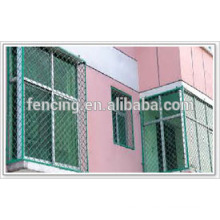 Revestimento galvanizado ou em PVC Belíssimo em grade ou cercado Meg, redes usadas para proteger janelas
