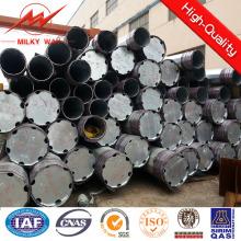 Poste de acero transmisión redondo 5mm de 20 m para distribución de energía