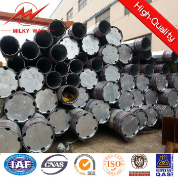 Round 5mm 20m Steel Transmission Pole for Power Distribution