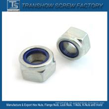 M3-M30 DIN985 DIN982 DIN6924 Ne-Nte Typ Nylon Sicherungsmutter