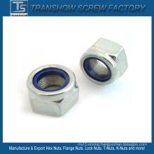 M3-M30 DIN985 DIN982 DIN6924 Ne Nte Type Nylon Lock Nut
