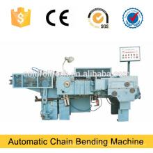 Máquina de dobra de corrente de ligação automática