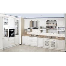 Design de cabine de cuisine à lame MDF à prix abordable et abordable