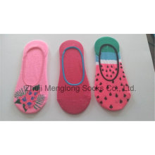 Hot Sell Fashion Popular Lady Invisible Liner Low Cut Socks Inhouse Socks Cotton Socks