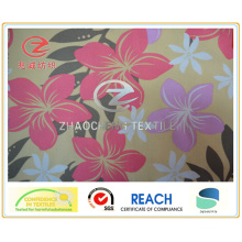 600d Flower Printing Canvas Fabric (ZCGP043)