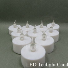 LED Tea Light Candles Vela LED parpadeante