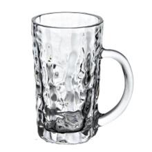 400ml caneca de vidro de cerveja com alça