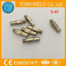 Accessoires de coupe plasma d'air électrode trafimet s45