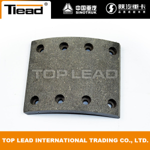 Original Howo Spare Parts Brake Lining Depan WG9100440029