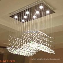 Chandelier pendant waterfall decoration dinning room mega lights lamp 92014