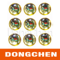 Custom Free Style Printed Adhesive 3m Round Epoxy Dome Sticker