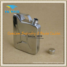 5 Oz Stainless Steel Jerry Can Hip Flask for Vodka