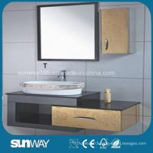Irrored Vanity Furniture Stainless Steel China Bathroom Cabinet