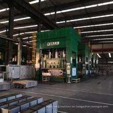 Prensa hidráulica de estampado automático de hojas